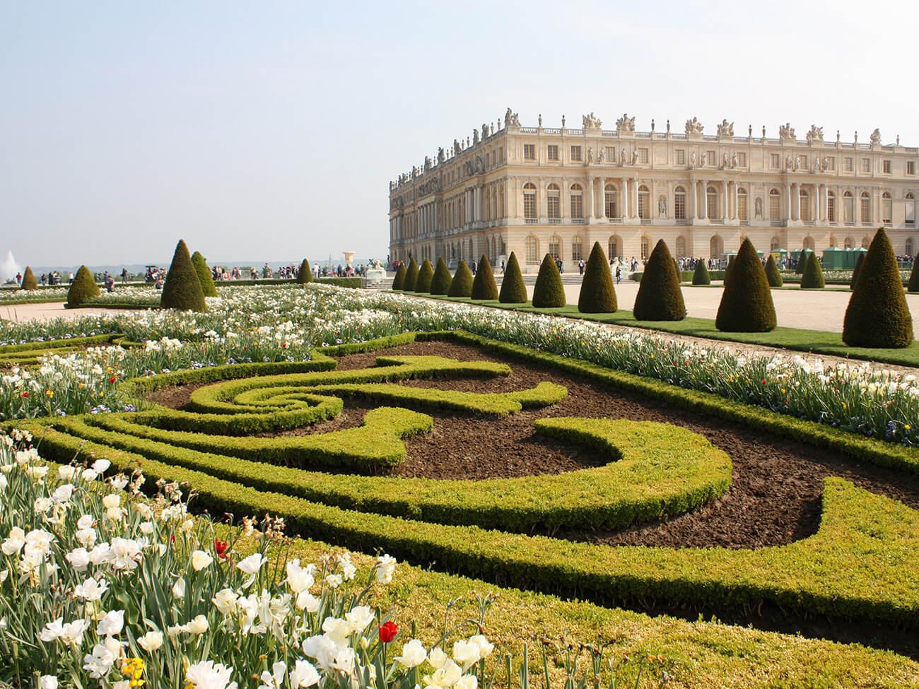 ogród w stylu francuskim wersal ogrody